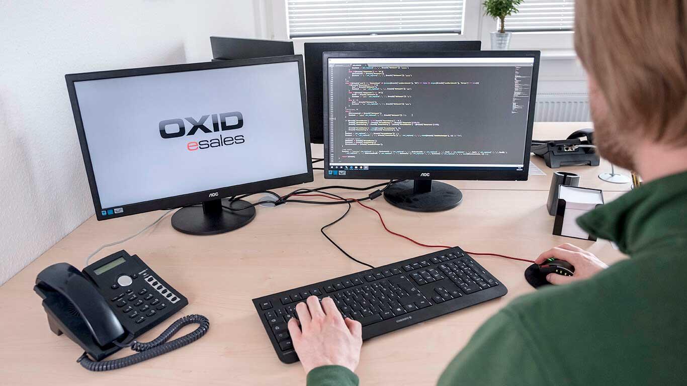 Oxid wird für die Webseitenerstellung benutzt