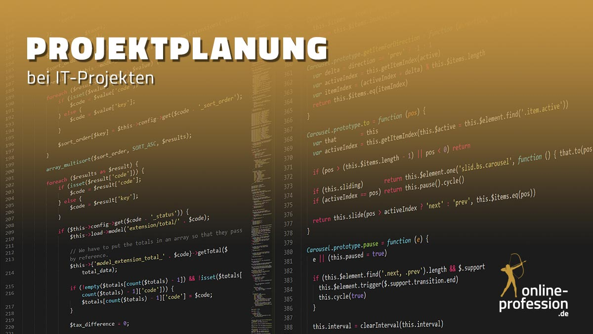 Projektplanung bei IT-Projekten