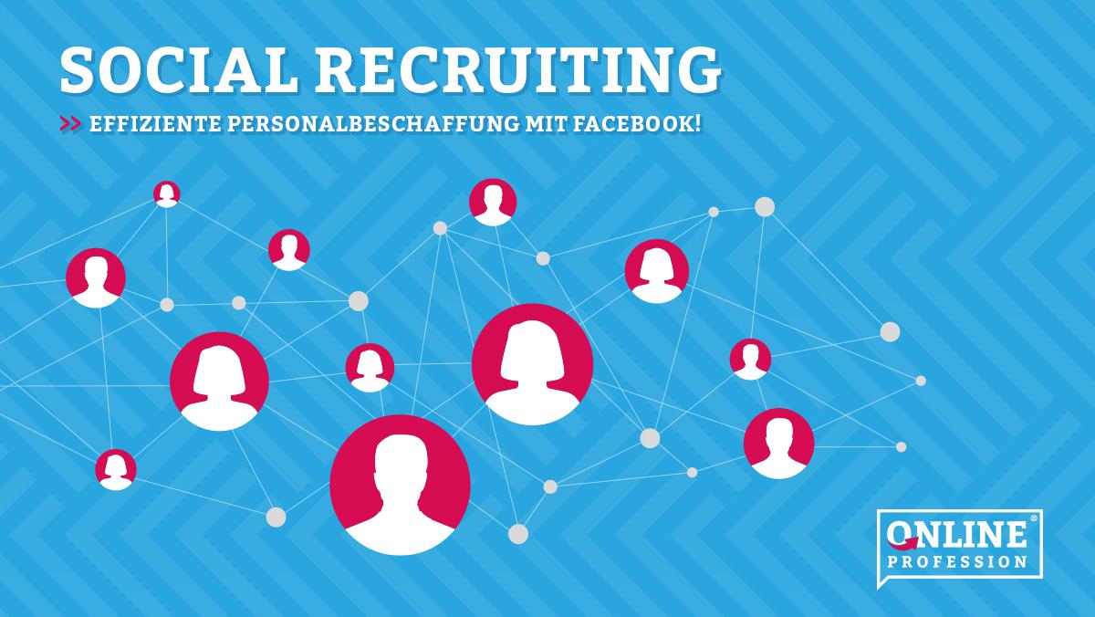 Recruiting in Social Media Kanälen  Kopieren