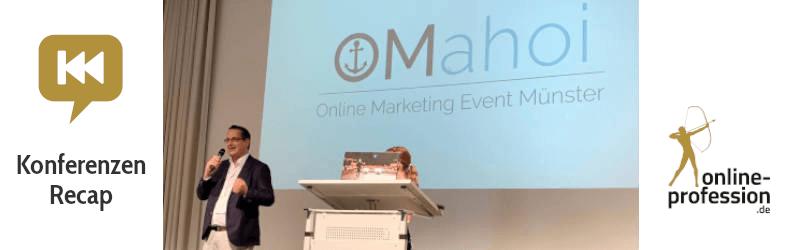 OMahoi: Ein weiterer Anker im Online Marketing für Münster