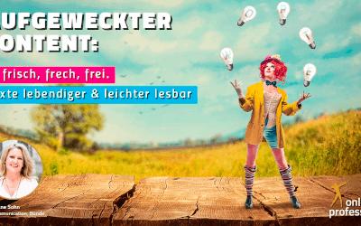 17. Münster-Online-Marketing-Meetup: 10 Tipps für die Texterstellung