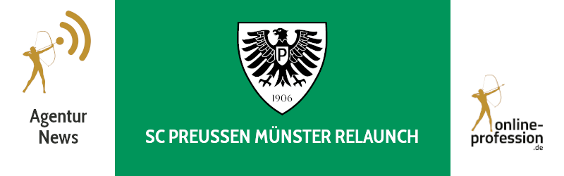 Relaunch für den SC Preußen Münster: Online neu aufgestellt!