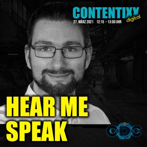 Sebastian Slawik auf der CONTENTIXX 2021