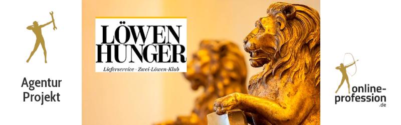 Neue Internetseite für Gastronomiebetrieb: Löwenhunger ist jetzt online!