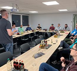 Interessante Zuhörer beim 15. Münsteraner Online Marketing Meetup zum Thema Linkaufbau mit broken Links