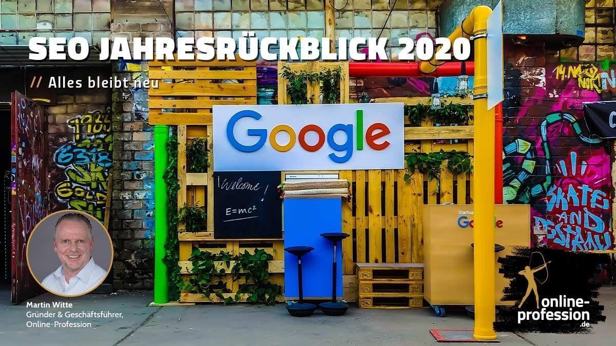 SEO Jahresrückblick 2020