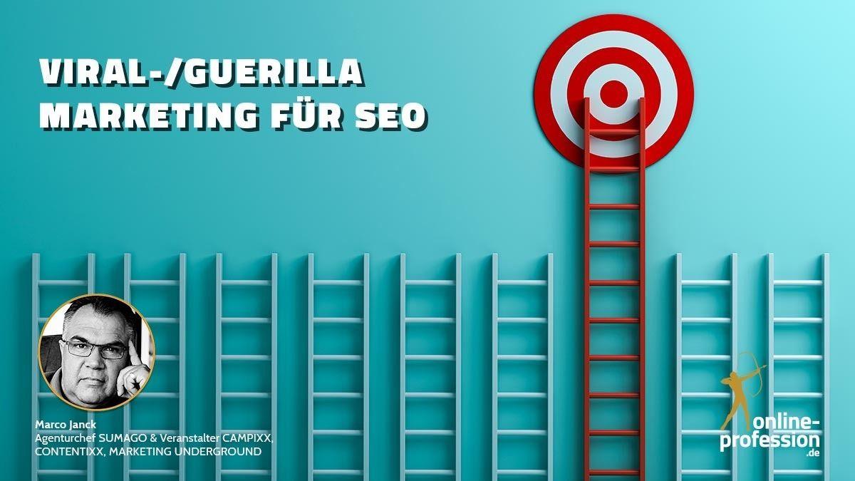 Viral-/Guerilla Marketing für SEO