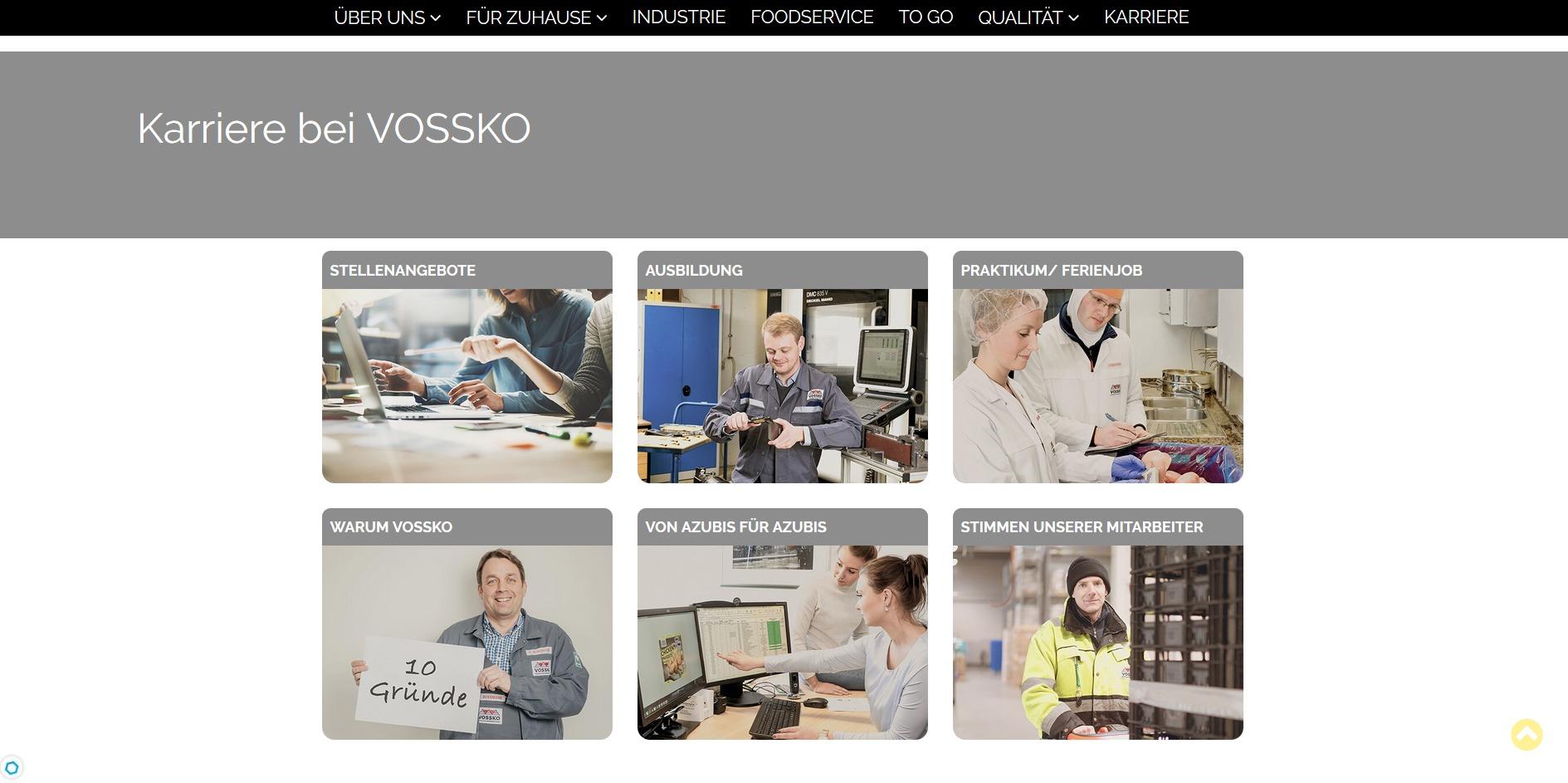 Vossko Karriereüberblick
