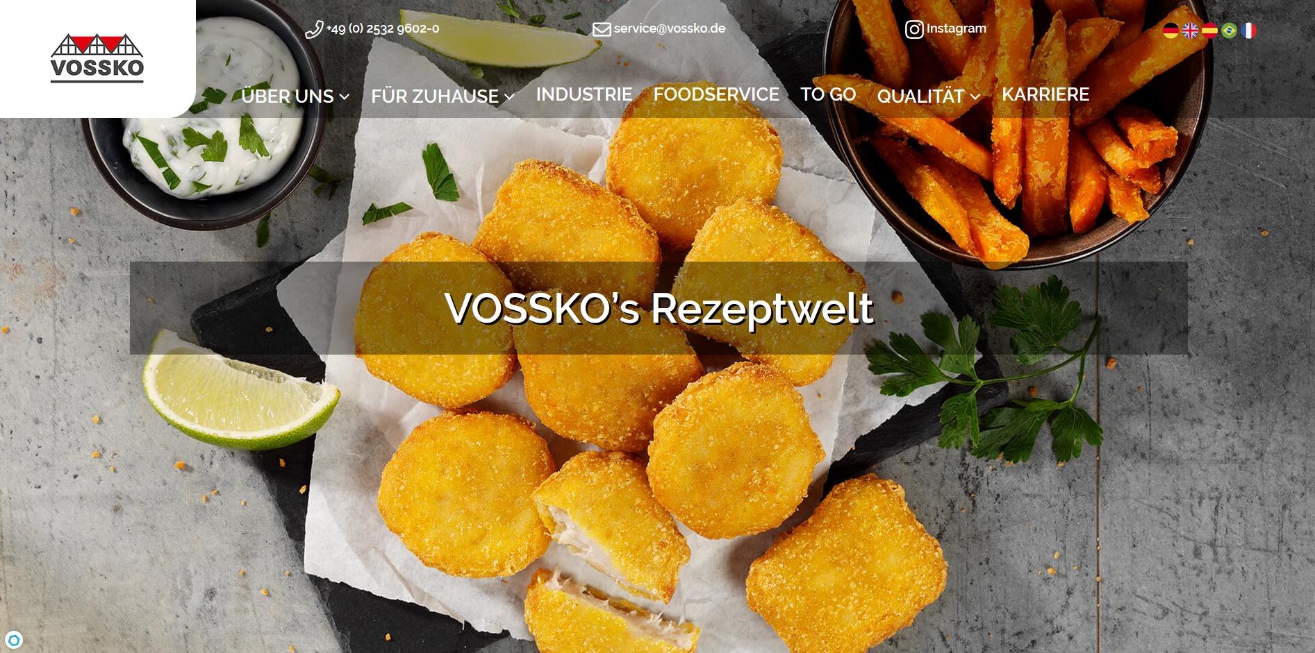 Vossko-Rezeptwelt