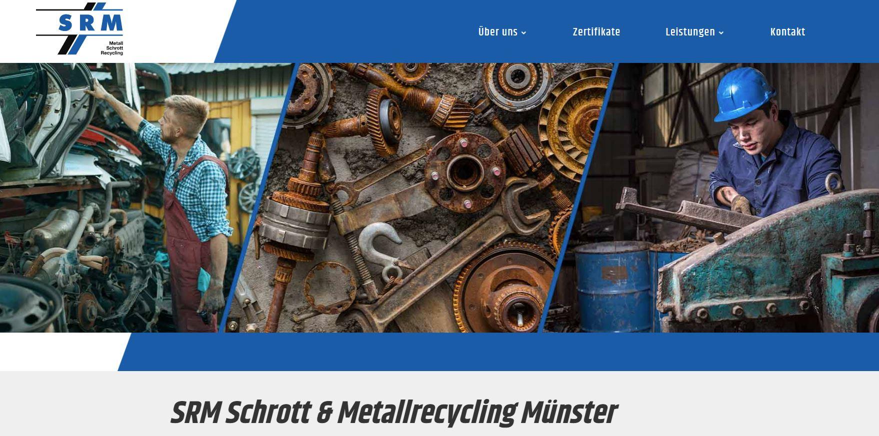 SRM Schrott- & Metallrecycling Münster