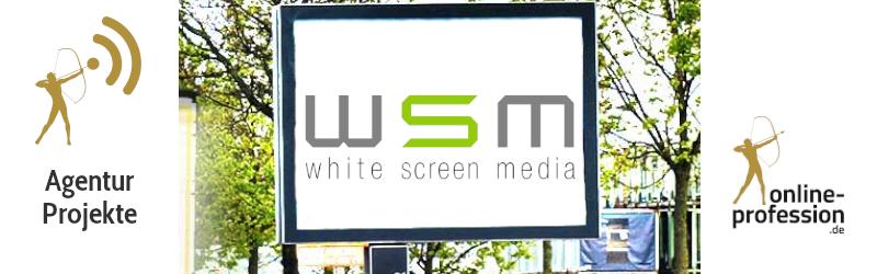 White Screen Media: Beitragsbild